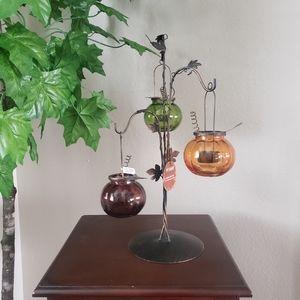 PIER 1 IMPORTS  Pumpkin Tea Light Holder
